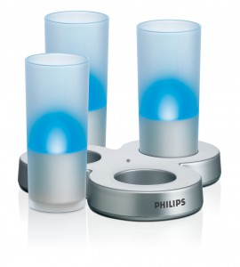 philips imageo led candle light set deko dil k lin. Black Bedroom Furniture Sets. Home Design Ideas