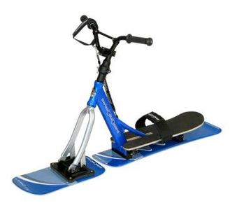 BIKEBOARD Junior Snow, Aluminium, blau/silber