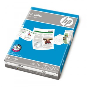 HP Office Paper, A4, 210x297 mm, 80 g/m2, 2500 Stk.