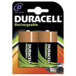 DURACELL Rechargeable D, 2200 mAh, 2 Stk., 34x34x61.5 mm, Mono, LR20