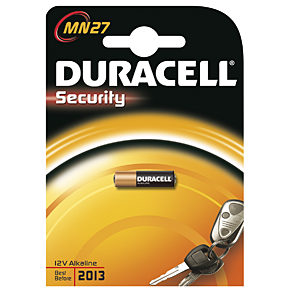 DURACELL Security MN27, Alkaline, 12.0 V, 1 Stk.
