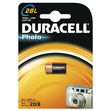 DURACELL Photo Lithium 28L, 6.0 V, 1 Stk., 13x13x25.2 mm