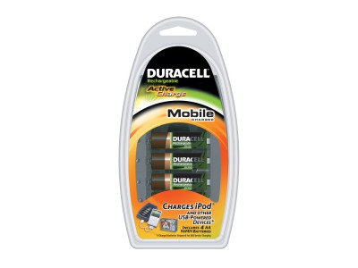 DURACELL CEF23P Traveller, inkl. 4x AA