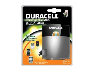 DURACELL PPS3, 2in1 USB-Ladegerät
