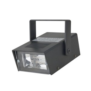 SHOWTEC Mini Strobe, 15 W, T12, 1-10 F. p. S.