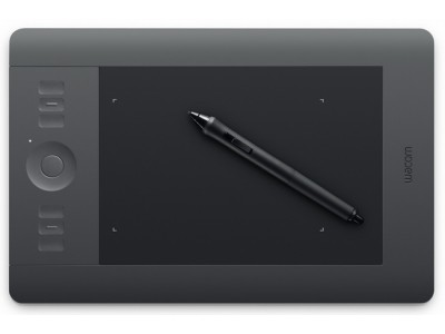 WACOM Intuos5 Touch S, A6 Wide, 157x98 mm, 6 Tasten