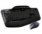 LOGITECH MK710 Wireless Desktop, 2.4 GHz, Unifying, USB, 2/2x AA
