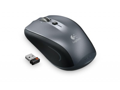 LOGITECH M515 Wireless Mouse, 2.4 GHz, Unifying, USB, 2x AA