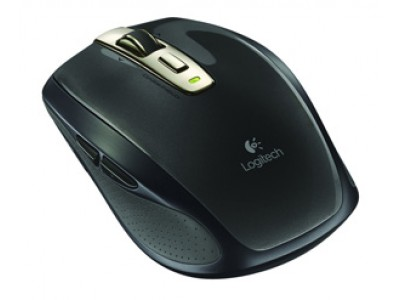 LOGITECH Anywhere Mouse MX, 2.4 GHz, Unifying, USB, 2x AA
