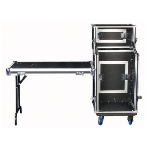 "DAP Compact Mobile DJ Case, 19"", 547x472x1217 mm"