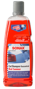 SONAX Car Shampoo Red Summer, Konzentrat, 1000 ml