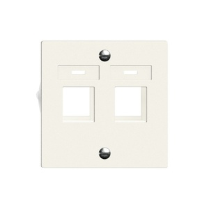 FELLER EDIZIO DUE Keystone, UP, 60x60 mm, weiss