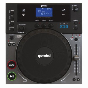 GEMINI CDJ-210, CD-, MP3-Player, Standmodell, Anti-Shock, Jog-Wheel etc.