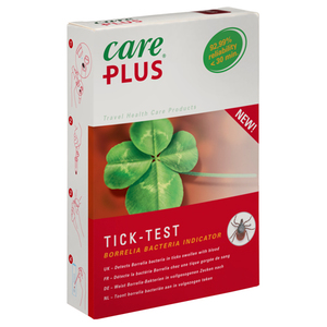 CARE PLUS Tick Test, Zeckentest, Borrelia Bacteria Indicator, 1 Set