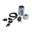 POWERTRAVELLER Powermonkey Explorer 2 silber, IP67, 6000 mAh, 5 V