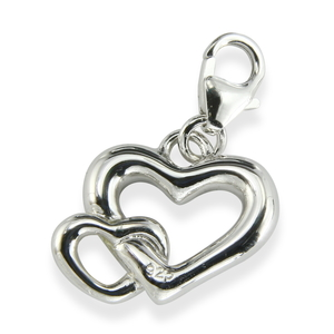 Charms Silber Herz