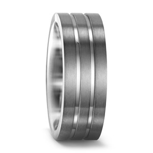 Partnerring Titan, 7 mm, MSt; 2 mm, 48/50/52/54/56/58/60/62/64/66/68/70/72