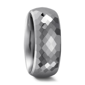 Partnerring Wolfram, 8 mm, MSt; 2 mm, 48/50/52/54/56/58/60/62/64/66/68/70/72