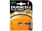 DURACELL Plus Power, AAA, Alkali