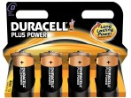 DURACELL Plus Power D, Alkaline,