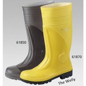 THE WELLY Safety Work, 39-47, CE/EN 345-1/S5, gelb